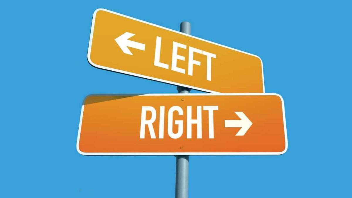 left vs right